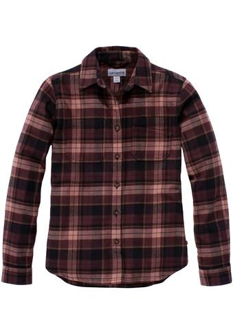 CARHARTT Damen T - Shirt »HAMILTON«, aus Flannell kaufen