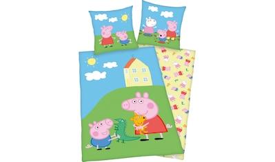 Peppa Pig Kinderbettwäsche »Peppa Pig«, mit niedlichem Motiv kaufen
