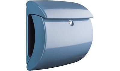 BURG WÄCHTER Briefkasten »Briefkasten in Klavierlack - Optik, Piano 886 LB«, Light Blue kaufen