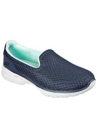 Skechers Slip-On Sneaker »GO WALK 6-BIG SPLASH«, im monochromen Look kaufen