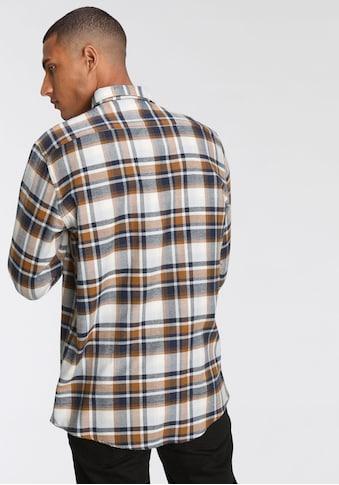 Daniel Hechter Flanellhemd, mit Button-down- Kragen kaufen