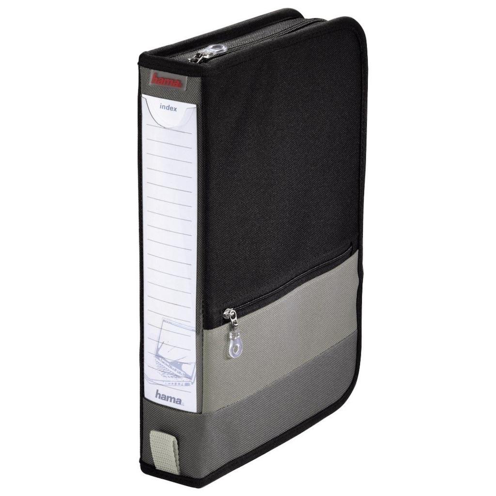Hama Office-Wallet 64, Schwarz/Grau »Disc-Tasche«