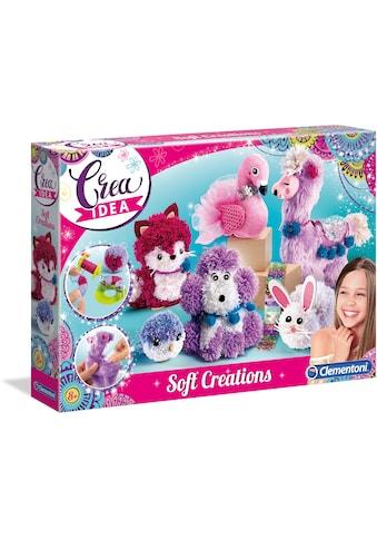 """Clementoni® Kreativset """"Crea Idea Kuschelige Kreationen"""" kaufen"""