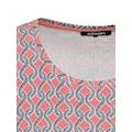 Olsen Rundhalsshirt, mit maritimem Muster
