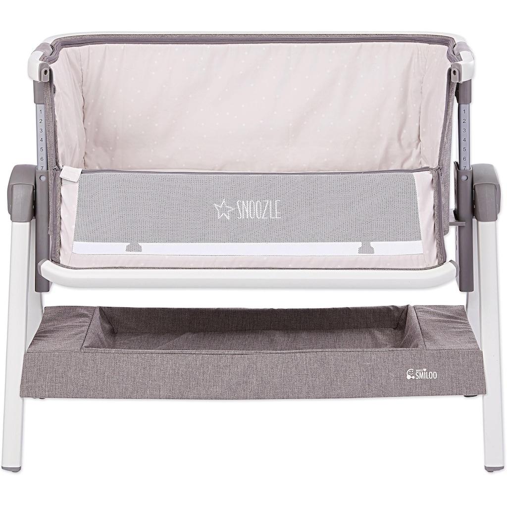 Gesslein Baby-Reisebett »Babies Smiloo Snoozle, weiß/taupe«