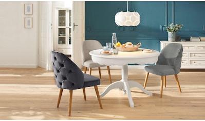 """Home affaire 4 - Fußstuhl """"Desna"""" kaufen"""