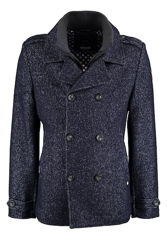 DNR Jackets Herren Jacke mit doppelter Knopfleiste und Stehkragen kaufen