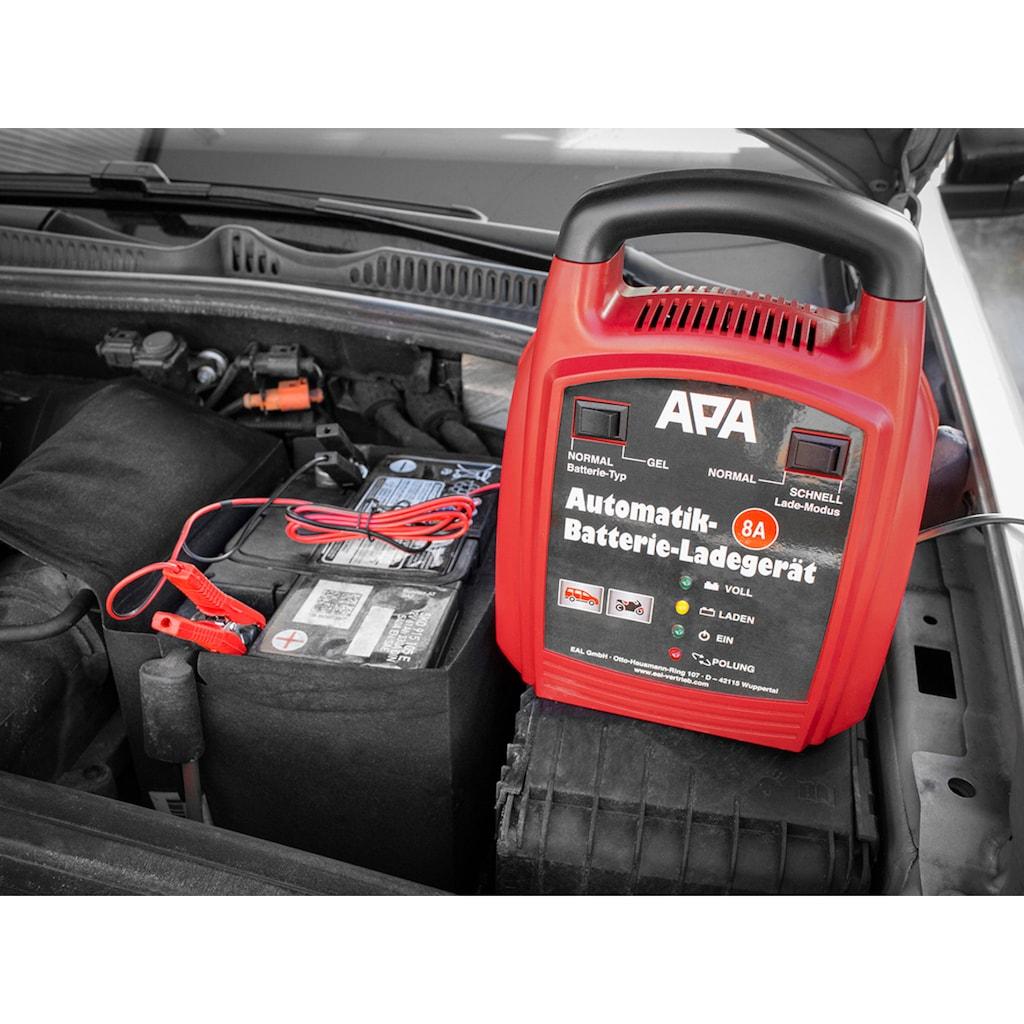 APA Batterie-Ladegerät, 8000 mA, 12 V