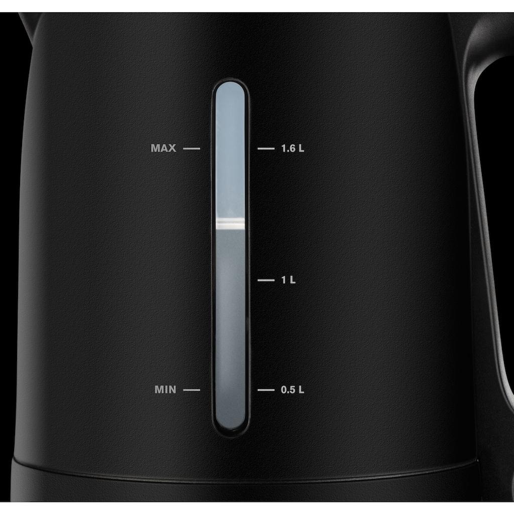 Krups Wasserkocher, BW2448, 1,6 Liter, 2400 Watt