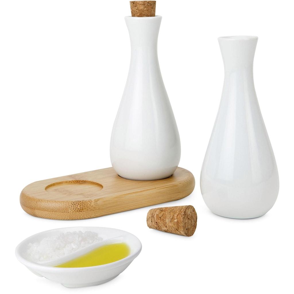 ROMINOX Menage-Set »Tabula«, (Set, 3 tlg.), Öl & Essig Spender (je 100 ml)