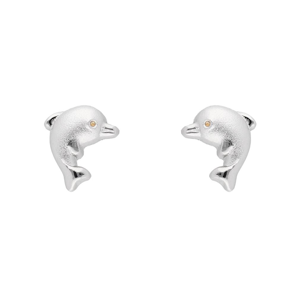 Adelia´s Paar Ohrstecker »925 Silber Ohrringe / Ohrstecker Delphin«, Silberschmuck für Damen