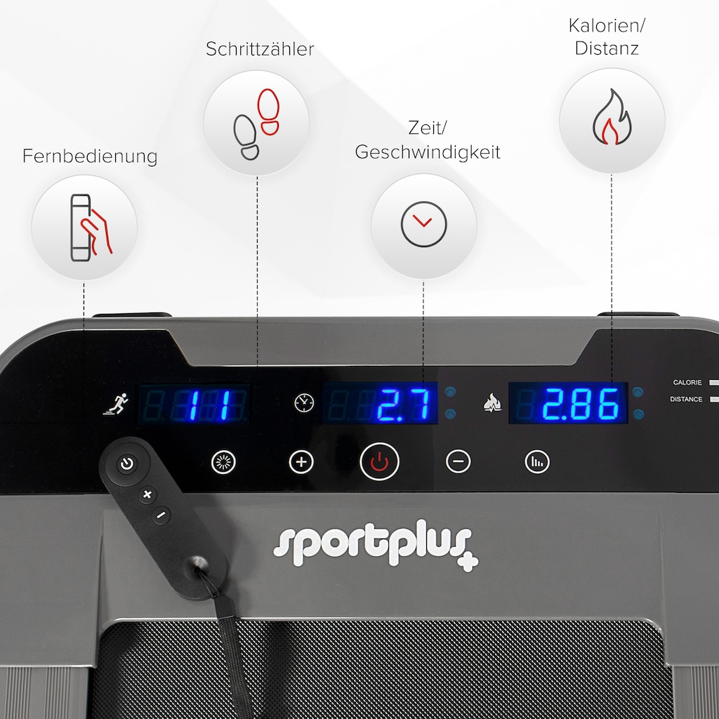 SportPlus Laufband »Walkingband SP-TM-1006«