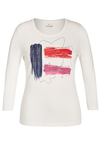 Rabe Shirt mit Front - Print und Dekosteinen kaufen