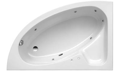OTTOFOND Whirlpool-Badewanne »Salinas A«, Typ 1, chrom kaufen