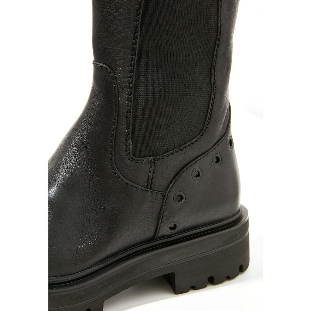 INUOVO Stiefel »Leder/Textil«