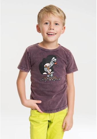 LOGOSHIRT T-Shirt »Der kleine Maulwurf«, mit Print mit lizenziertem Originaldesign kaufen