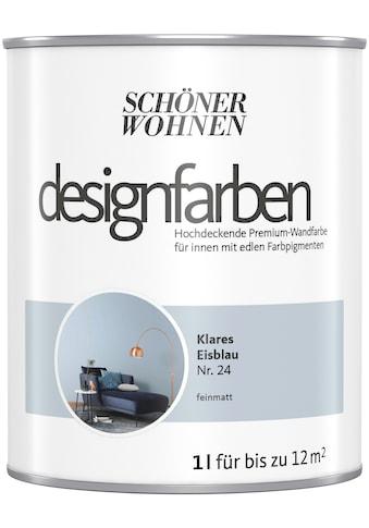 SCHÖNER WOHNEN-Kollektion Wand- und Deckenfarbe »Designfarben«, hochdeckend, Klares... kaufen