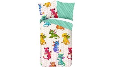 good morning Kinderbettwäsche »Dragons«, mit Drachen kaufen