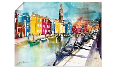 Artland Wandbild »Venedig«, Italien, (1 St.), in vielen Größen & Produktarten -... kaufen