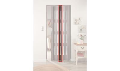 FORTE Türerweiterung , Zusatzlamelle für Falttür »Elvira«, eiche taupe + 4 Fenster kaufen