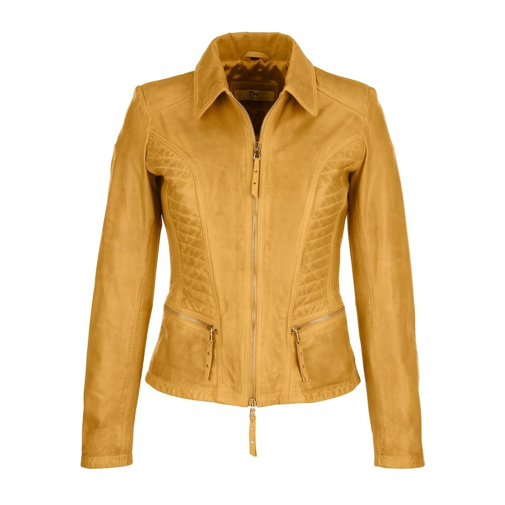 Alba Moda Lederjacke, aus hochwertigem Lammnappa