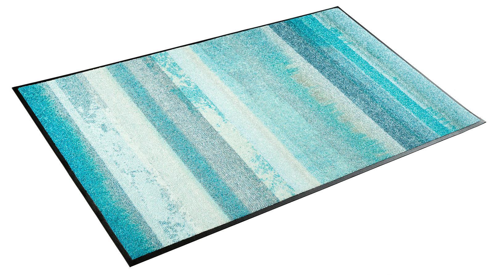 Teppich Aquamix wash+dry by Kleen-Tex rechteckig Höhe 7 mm gedruckt