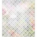 MySpotti Fensterfolie »Look Grafik Blumenmuster white«, halbtransparent, glattstatisch haftend, 90 x 100 cm, statisch haftend