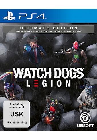 Watch Dogs: Legion Ultimate Edition PlayStation 4 kaufen