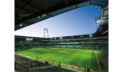 Wall-Art Fototapete »Werder Bremen - Weserstadion Innen« kaufen