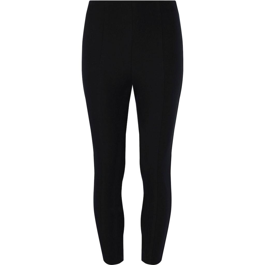 Tommy Hilfiger Curve Stoffhose »COTTON GABARDINE LEGGING CURVE«, in extra-enger Legging Form