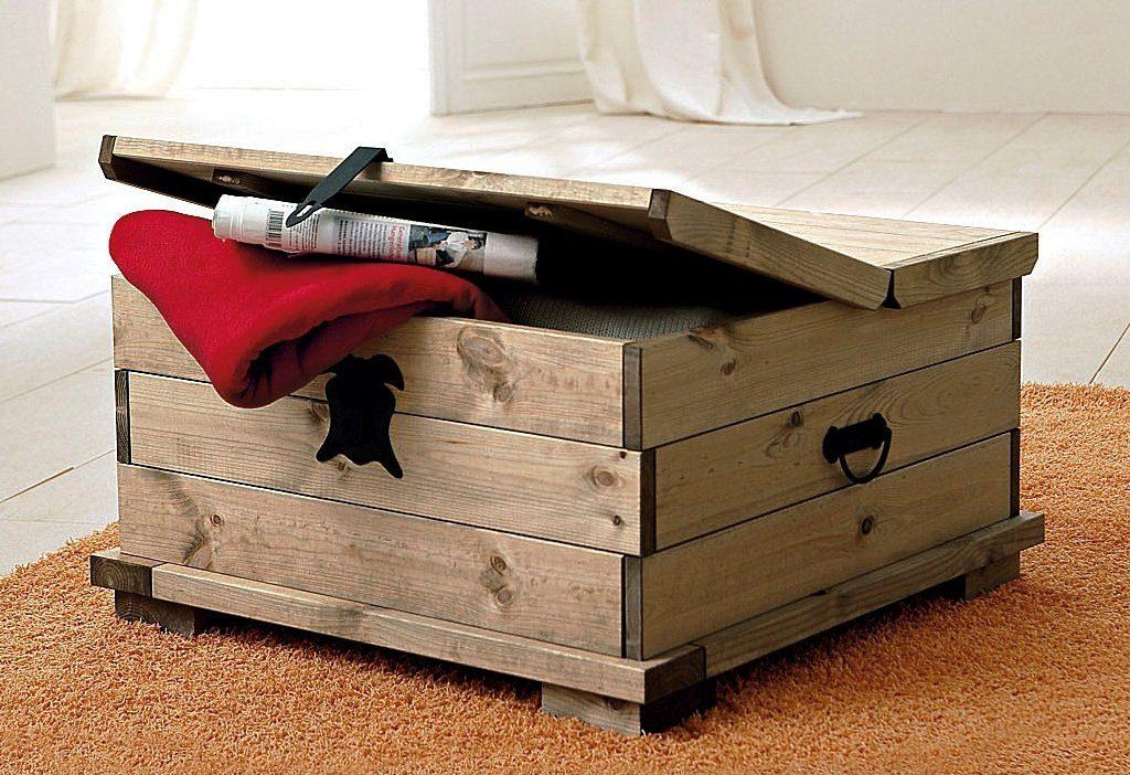 Home affaire Truhen-Couchtisch   Wohnzimmer > Tische > Truhentische   Massiver   HOME AFFAIRE