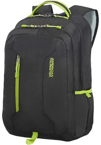 American Tourister® Laptoprucksack »Urban Groove UG4, black/lime« kaufen