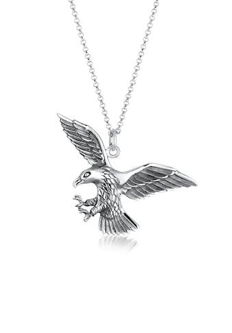 Kuzzoi Silberkette »Adler Greifvogel Cool 925 Sterling Silber« kaufen