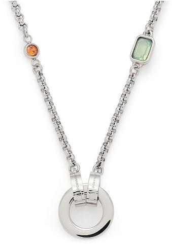 LEONARDO Charm-Kette »Rimini Darlin's, 018034«, mit Kristallsteinen kaufen