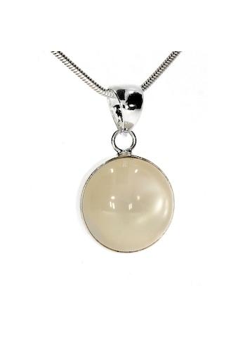 Adelia´s Kettenanhänger »Mondstein Anhänger Mond 925 Silber« kaufen