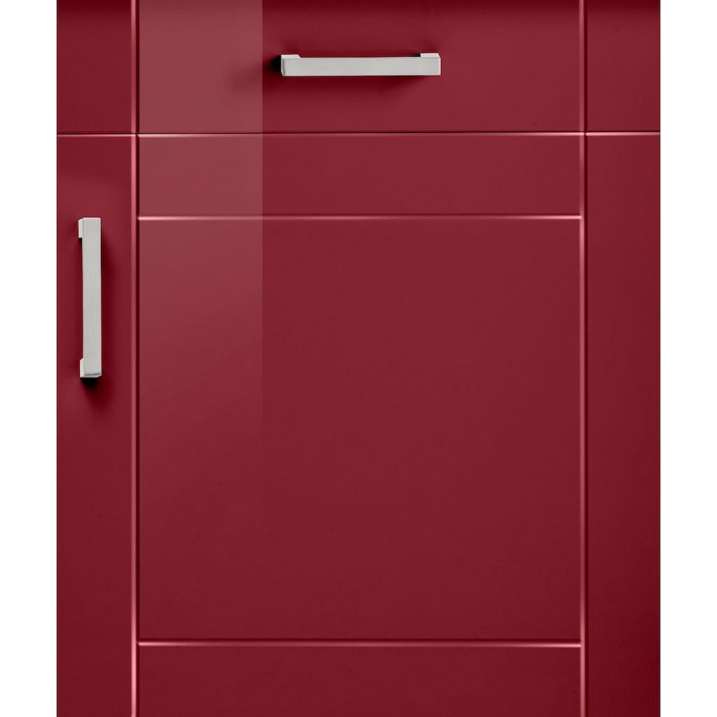 HELD MÖBEL Unterschrank »Tinnum«, 180 cm breit, Metallgriffe, MDF Fronten, 3 Schubkästen, 3 Türen, für viel Stauraum auch als Sideboard nutzbar
