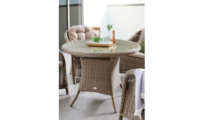 DESTINY Tisch »Key West«, Polyrattan, Ø 100 cm kaufen