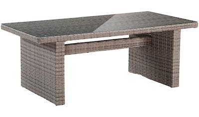 MERXX Gartentisch »Riviera«, (B/L): ca. 100x200 cm, Polyrattan kaufen
