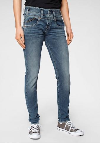 Herrlicher Slim-fit-Jeans »PEARL SLIM«, mit figurschmeichelnder Nahtführung kaufen