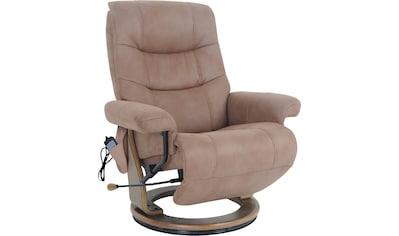 Alpha Techno Relaxsessel »AT 2127«, High End 6-Punkt Schwingungsfrequenz Massage kaufen