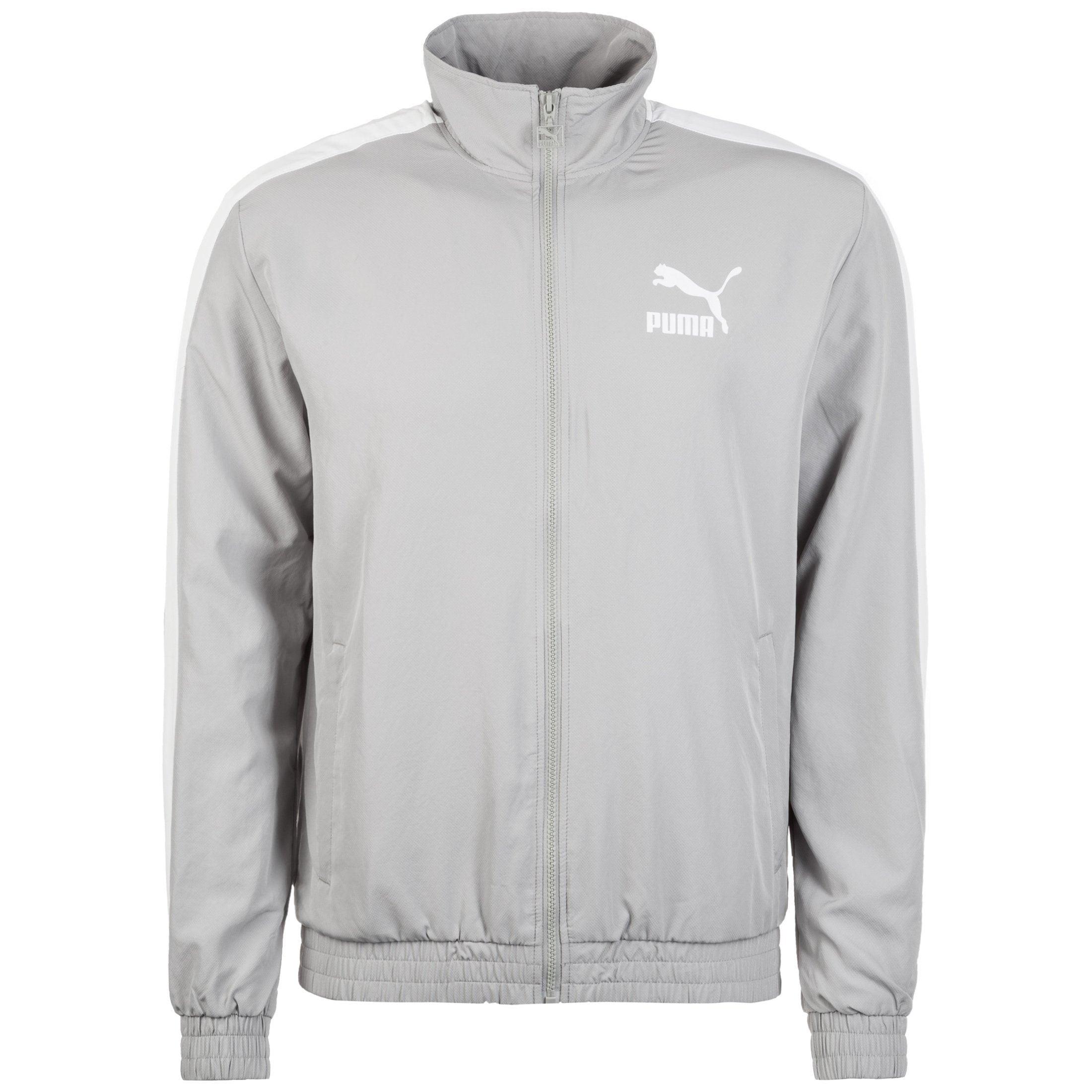 PUMA Sweatjacke Iconic T7 Herren | Bekleidung > Sweatshirts & -jacken > Sweatjacken | Grau | Puma