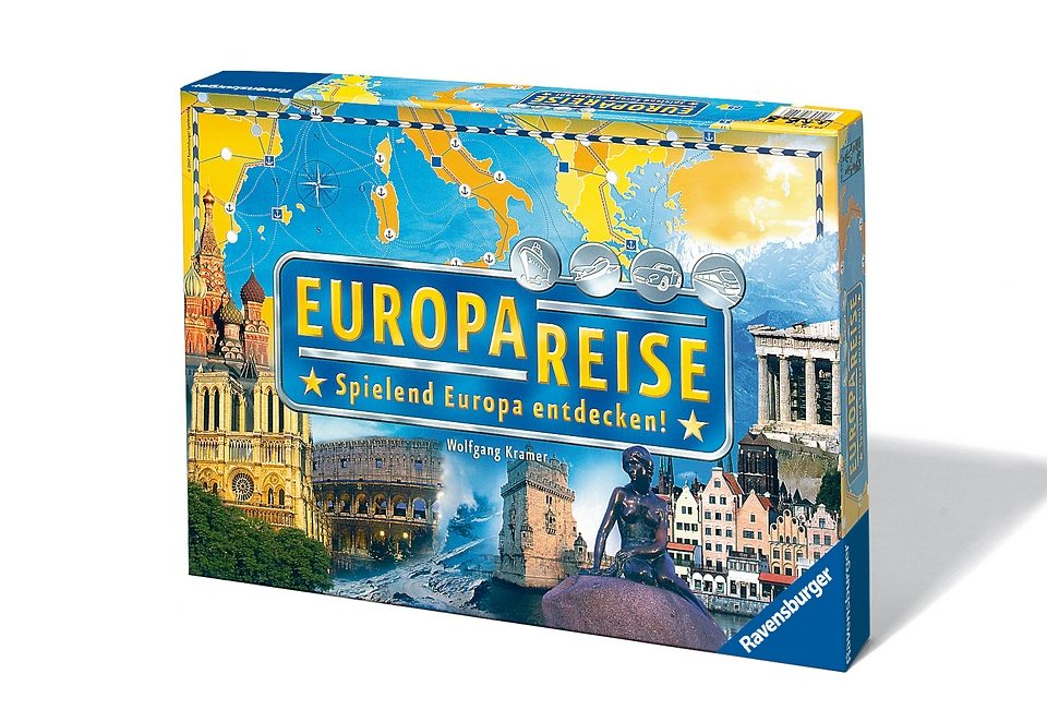 Ravensburger Wettlauf-Spiel,  Europareise  Preisvergleich