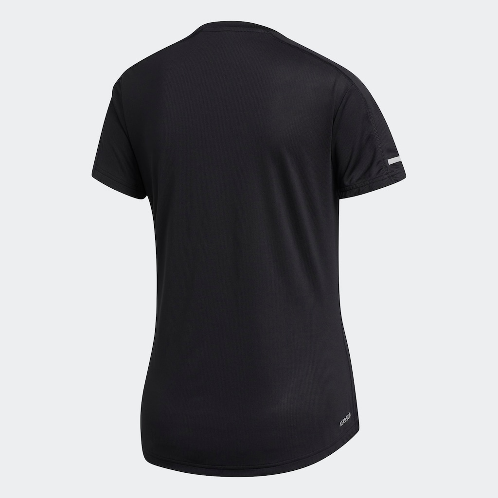 adidas Performance Laufshirt »RUN IT TEE 3 STRIPES«