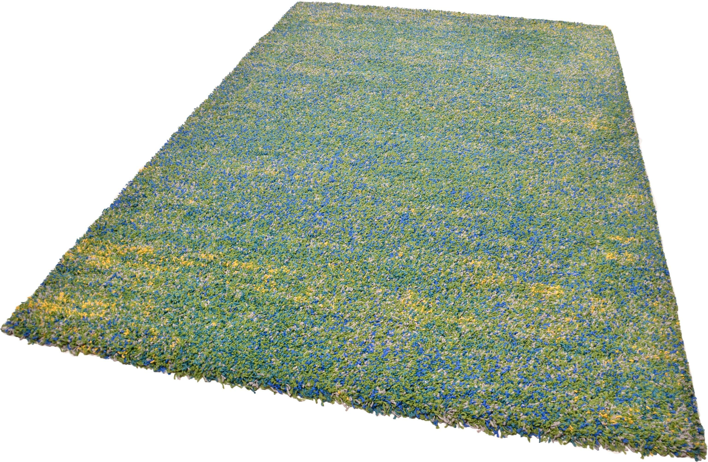 Hochflor-Teppich Color Shaggy 521 THEKO rechteckig Höhe 35 mm handgewebt