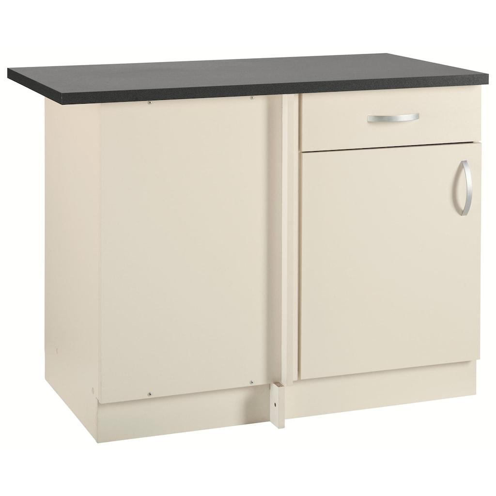 wiho Küchen Eckunterschrank »Amrum«, 110 cm breit