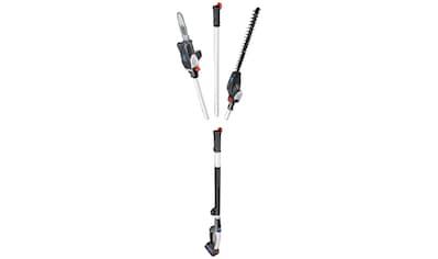 SCHEPPACH Set: Akku - Hochentaster »MGT410«, mit Heckenschere, 20/41 cm Schnittlänge kaufen