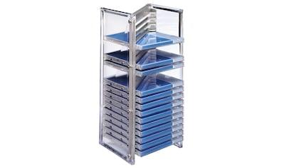 Hama CD- & Office-Rack Nexus 20, Silber kaufen
