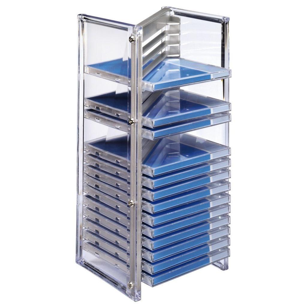 Hama CD- & Office-Rack Nexus 20, Silber