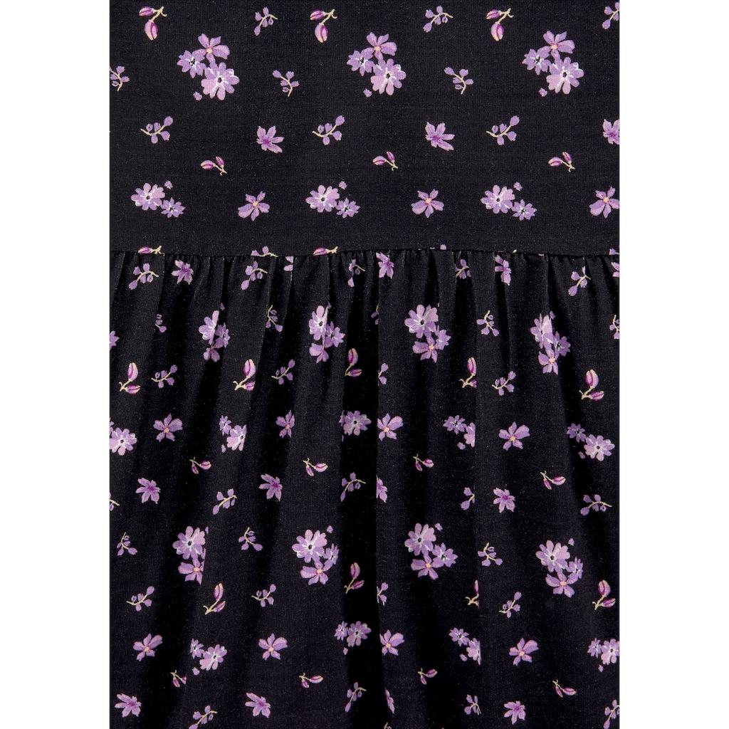 Arizona Jerseykleid, mit tollem Blumendruck