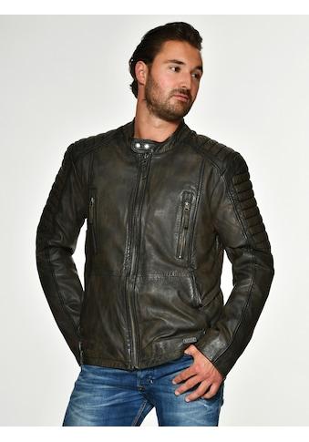 MUSTANG Lederjacke mit Brusttaschen »Cruz« kaufen